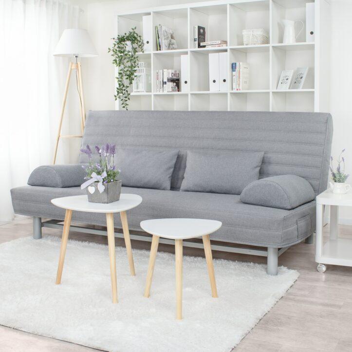 Pokrowiec na sofę beddinge w pasy